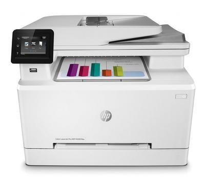 HP, Color LaserJet Pro, Printer, copy, scan, fax, White