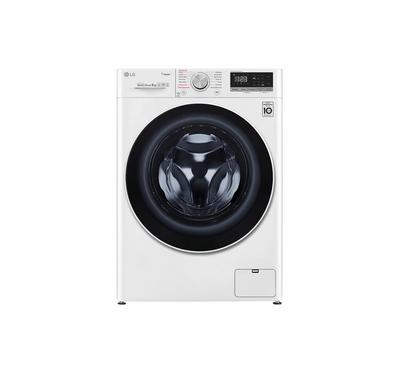 LG 9kg Front Load Washing Machine, 1400 rpm, White.