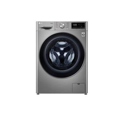 LG 9kg Front Load Washing Machine, 1400 rpm, Silver
