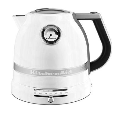KitchenAid Artisan Kettle, 1.5L, Boiling Element,3000W,Frosted Pearl