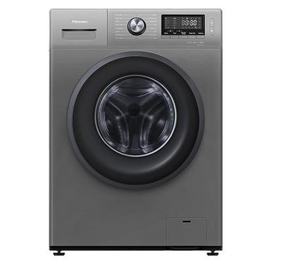 HISENSE 7Kg Front Load Washing Machine, 1200RPM Spin Speed,Titanium.