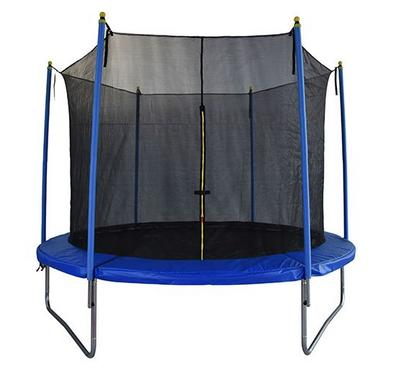 Homez, 8Ft Trampoline With Safety Net, Max Weight 80Kgs