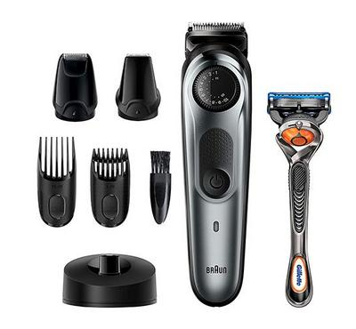 Braun, Multi Groomer Kit, Precision Kit, Lifetime Sharp Metal Blade, Black