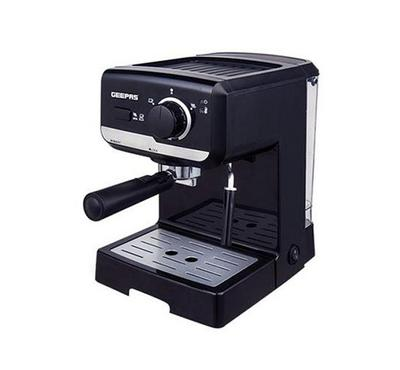 Geepas, Cappuccino Maker, 1.5 Ltr Water Tank Capacity,  Black