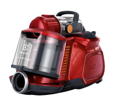 Electroluc, 2000W Vaccum Cleaner, Elux Silent Cyclone Performance, 1.4 Ltr Capacity, Red