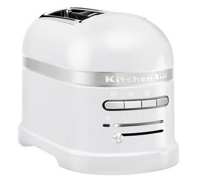 KitchenAid Artisan Toaster, 2-Slice, 1250W, Frosted Pearl