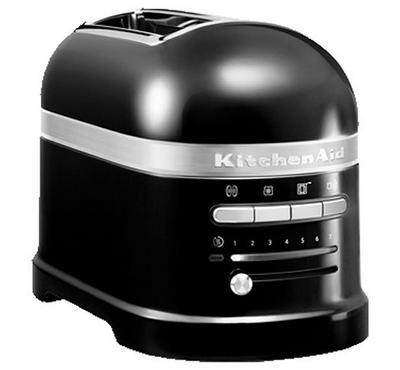 KitchenAid Artisan Toaster, 2-Slice, 1250W,Onyx Black
