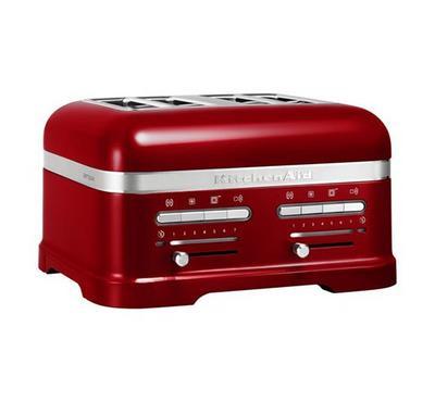 KitchenAid Artisan Toaster, 4-Slot, 2500W, Empire Red