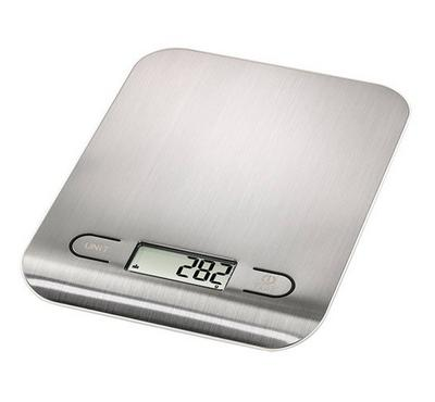 XAVAX, Kitchen Scale Stella, Silver