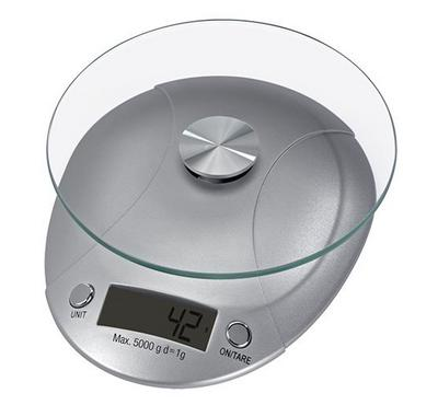 Xavax Milla Kitchen Scale, Silver