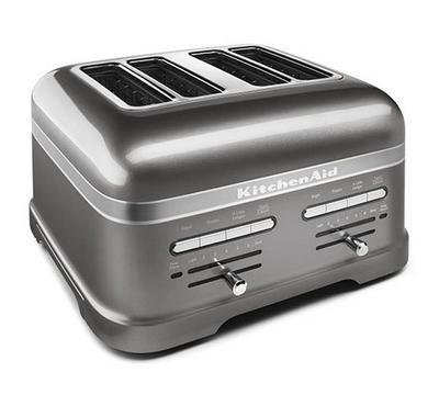 KitchenAid Artisan Toaster, 4-Slot, 2500W, Silver