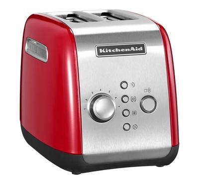 KitchenAid Artisan Toaster, 2-Slot, 1100W, Empire Red