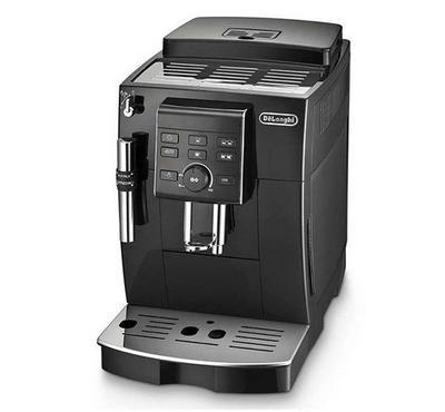 Delonghi Coffee Maker,15 bar Pump pressure, Self-Priming System, Cappuccino System, Black.