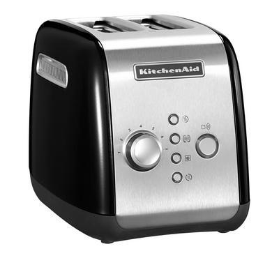 KitchenAid Artisan Toaster, 2-Slot, 1100W, Onyx Black
