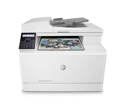 HP, 183 Color LaserJet Pro Printer, Wireless, Mobile Scanning+Printing+Copying, White