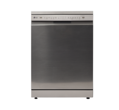 LG Dishwasher, 14 Place Setting, ,Inverter Direct Drive Motor, Platinum Silver
