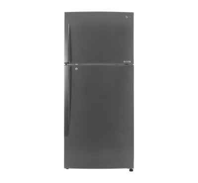LG Refrigerator, 18 Cu.Ft, Door Cooling, Linear Compressor, Platinum Silver