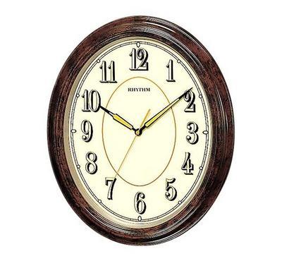 Rhythm Wall Clock, Wooden