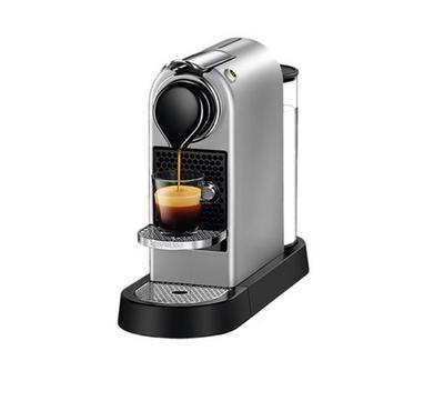 Nespresso Citiz Coffee Machine, 19 Bar Pressure, Silver
