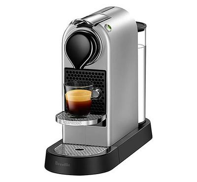 نسبرسو بيكسي، آلة صنع قهوة، ضغط 19 بار، فضي