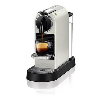 Nespresso Citiz Mini Coffee Machine, 19 Bar Pressure, White