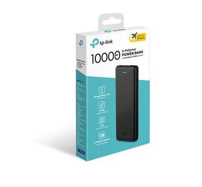 Tp-Link, 10000mAh Power Bank, Dual USB Input Ports, White