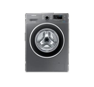 Samsung 8 Kg Front Load Washing Machine, 1200 RPM,Silver