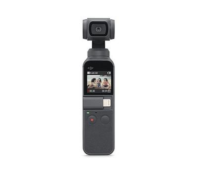 DJI OSMO Pocket Camera with 4K Stabilizer, 12MP, 1.5 Iinch Touch LED