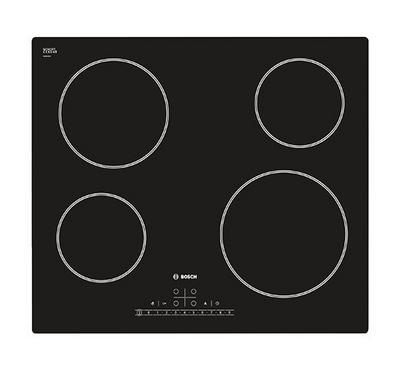 Bosch 4 Burner Ceramic Electric Hob, Touch Control MultiTouch, Black
