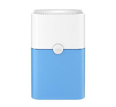 Blueair, Pure Air Purifier, Air Changes Per Hour, 360° Air Intake, White& Blue