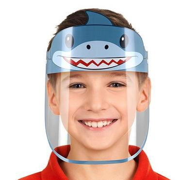 SmartLine, Face Shield protective Mask for kids, Shark
