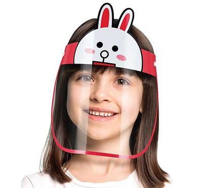SmartLine, Face Shield protective Mask for kids, Rabbi