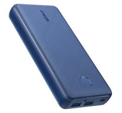 Anker PowerCore Select 20000 mAh, 2 Port Powerbank, Blue