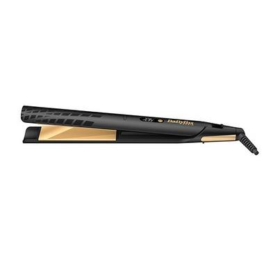 Babyliss Straightner 35mm, 3 Temperature LCD, Gold