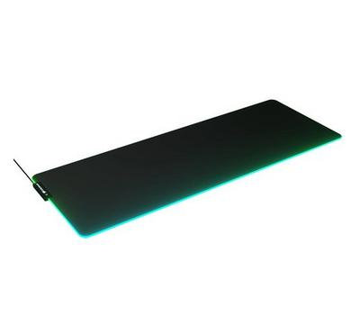 Cougar, Neon RGB Gaming Mouse Pad, Extra Large, Black