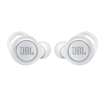 JBL Live 300 TWS In-Ear Earbuds, White Gloss