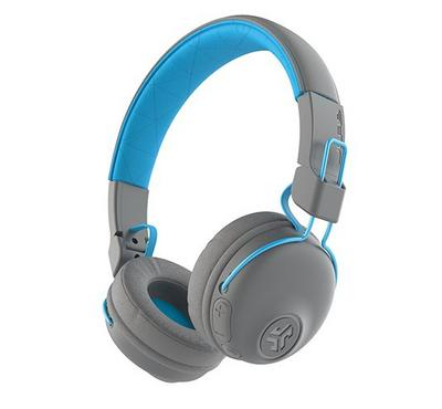 Jlab Adult Studio Wireless Headphones, Gray/Blue