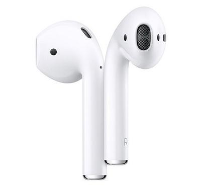 Apple AirPods 2nd Gen Wireless In-Ear Earphone With Wireless Charging Case White