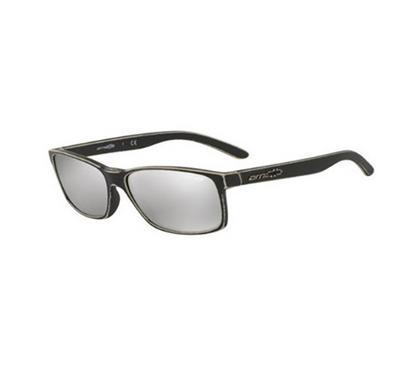أرنيت، نظارة شمسية رجالية بإطار كامل، فضي عاكس