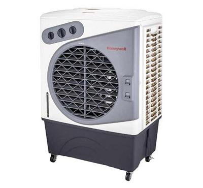 Honeywell Air Cooler, 3-in-1 Evaporative Cooling, Fan and Humidification, White & Grey