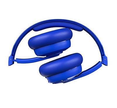 سكل كاندي، كاسيت سماعة رأس لاسلكية مع ميكرفون، أزرق