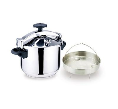 Bluemen, Pressure Cooker, 10Ltr, Stainless Steel