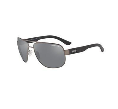أرماني إكستشينج، نظارة شمسية رجالية بايلوت، رمادي
