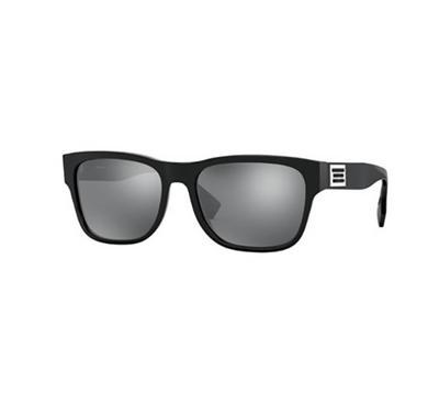 بربري، نظارة شمسية رجالية مربعة الشكل، أسود