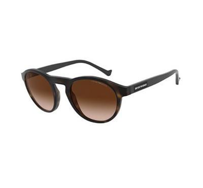 إمبوريو أرماني، نظارة شمسية رجالية  بشكل عدسة غير اعتيادي، هافانا
