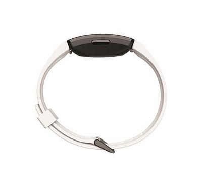 Fitbit Inspire HR, Fitness Tracker,White and Black