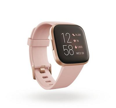 Fitbit Versa 2 Smartwatch 35MM, Petal Copper Rose Aluminum