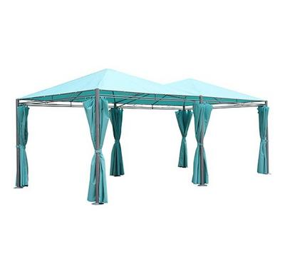 Gazebo, 3X6X2.65M With Pa Coating, Blue