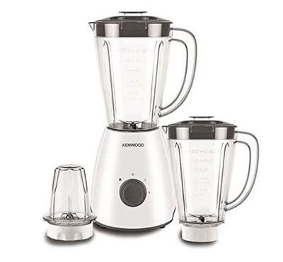 Kenwood Blender 2.0 L Jar, 650 Watts, 2 Blender + 2 Mill, White