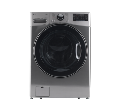 LG Front Load Washer/Dryer Combo, 19 Kg / 11kg, Inverter Direct Drive,Wi-Fi, Stainless Silver